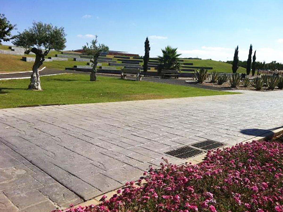 Hormigon Impreso Campus Universitario de Badajoz