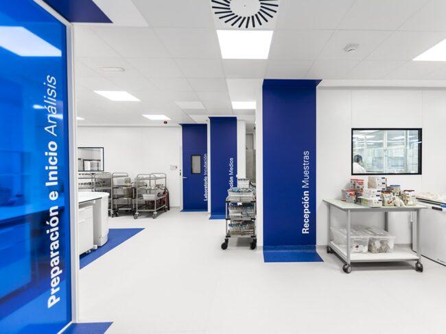 Pavimento de PVC Instalaciones Nestle